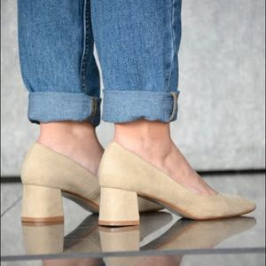 Zara Granny Heels / Pumps